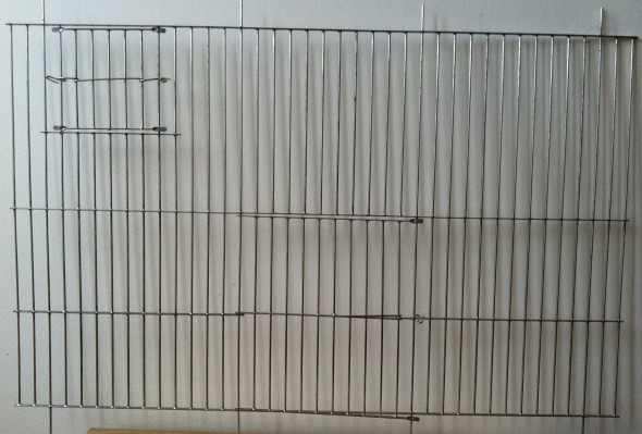 "Budgie Cagefront 24"" x 15"""