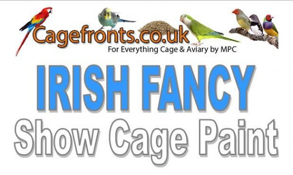 Irish Fancy Show Cage Paint