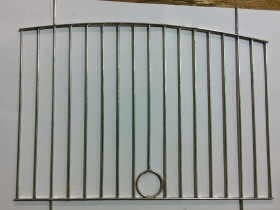 "British No 2 Show Cage Front (1"" Head Hole)"